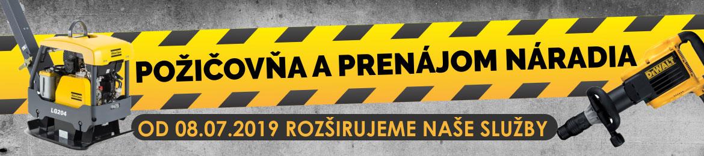 banner požičovňa